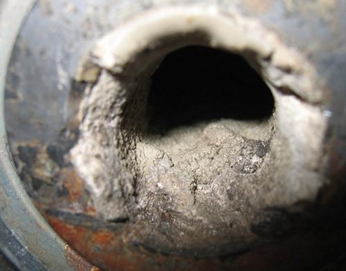 Газ. Защита выветривателя от накипи