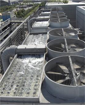 Защита от накипи системы охлаждения торгового центра West End (Венгрия)