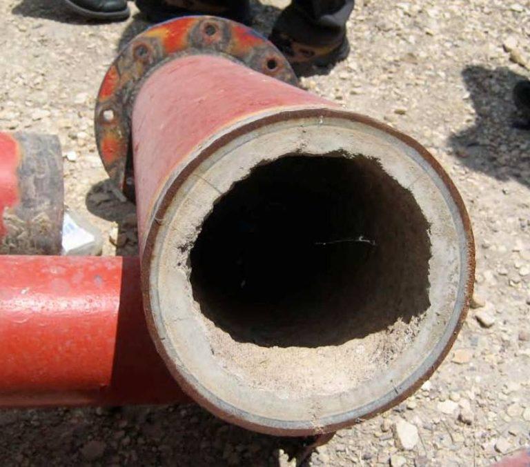Защита от накипи водовода гидроэлектростанции д.660мм (Израиль)