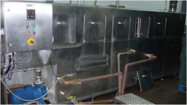 Защита от накипи и бактерий моечных машин лотков для мяса