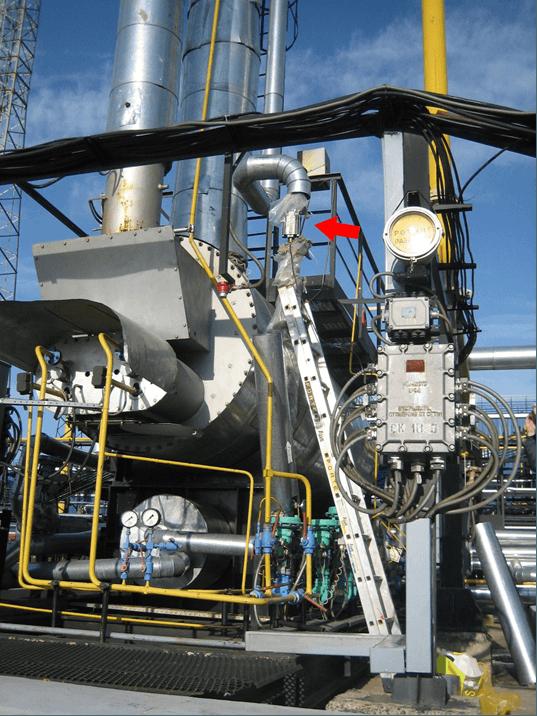 Газ. Защита от накипи установки регенерации метанола.